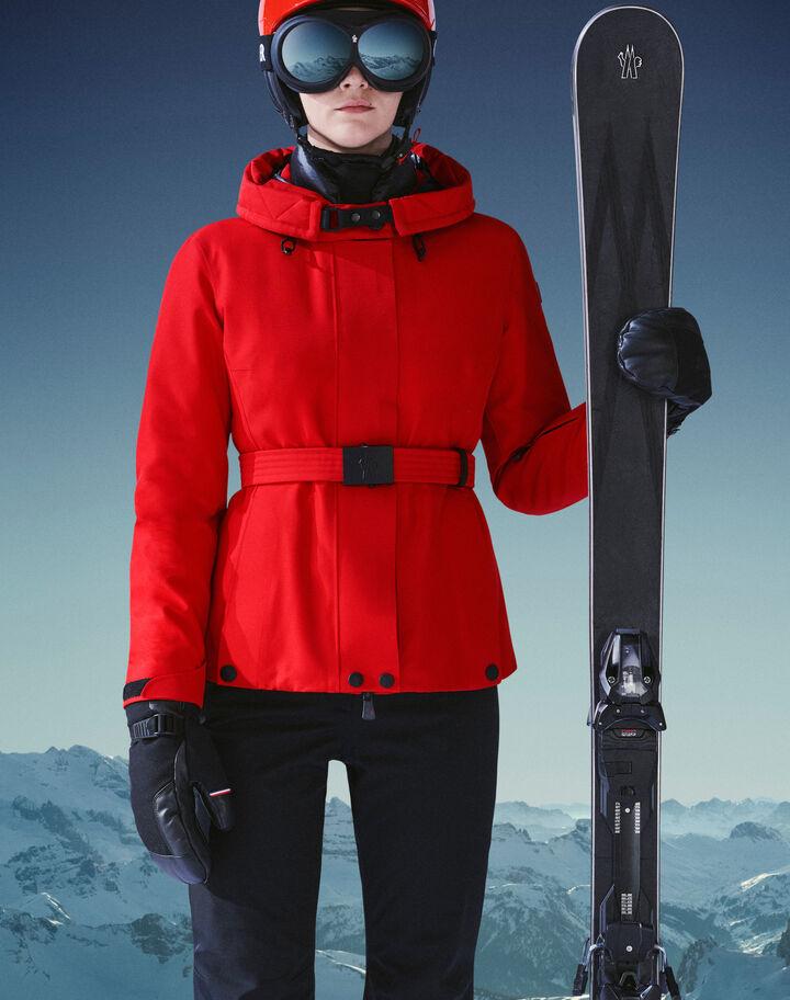 Moncler Ski helmet Scarlet Red
