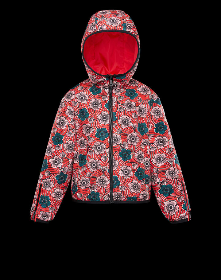 Moncler Breanna Flowers Print Red