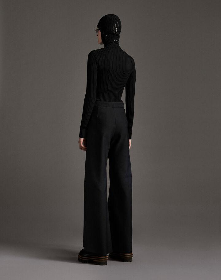 Moncler Wool pants Black
