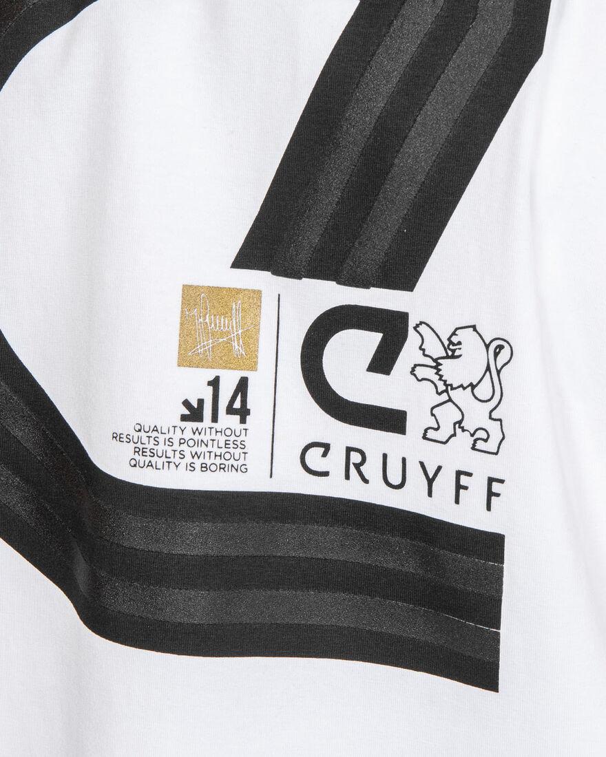 Lluis SS T-Shirt - Black - 95% Cotton / 5% Elastan, White, hi-res