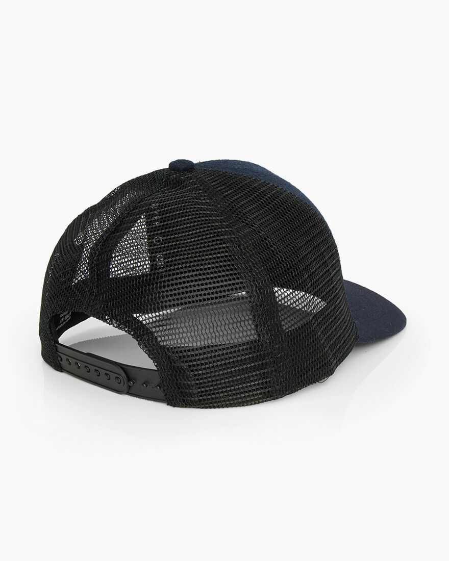 C Trucker Cap, Navy, hi-res