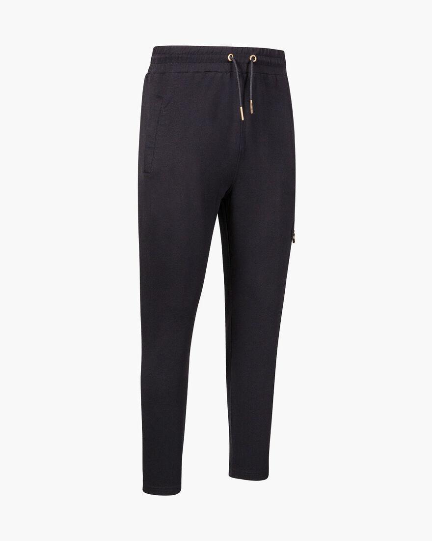 Lluis Pant - Black - 50 %Cotton / 45% Polyester / , Black, hi-res