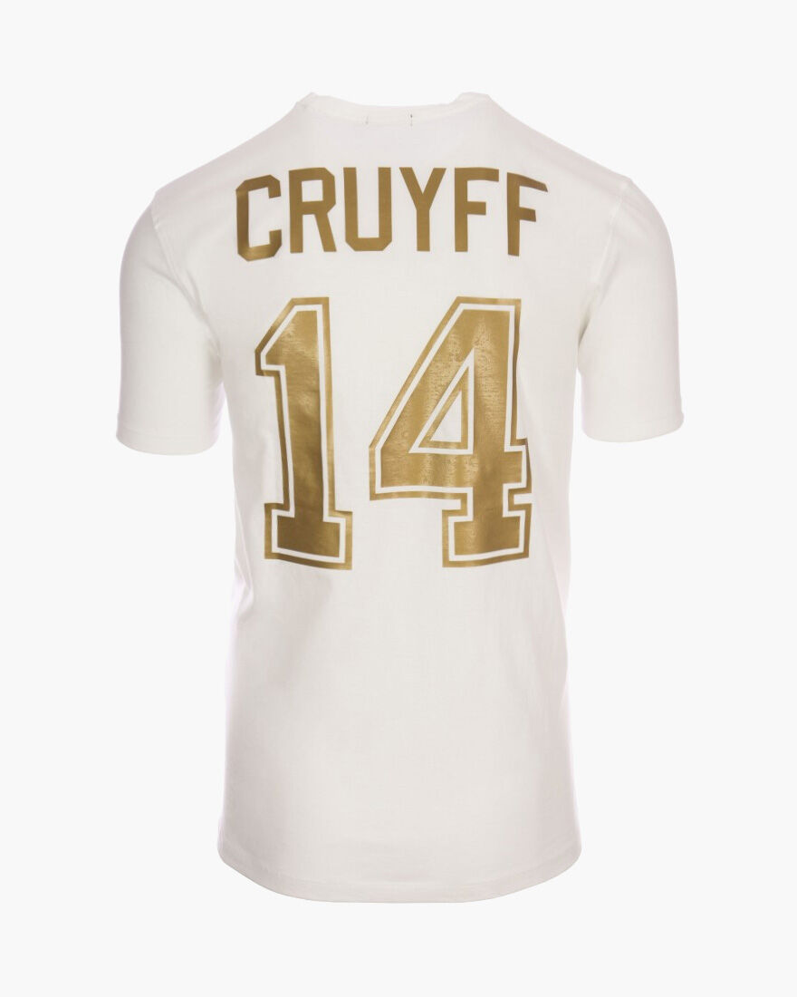 Cruyff Fourteen, White/Gold, hi-res