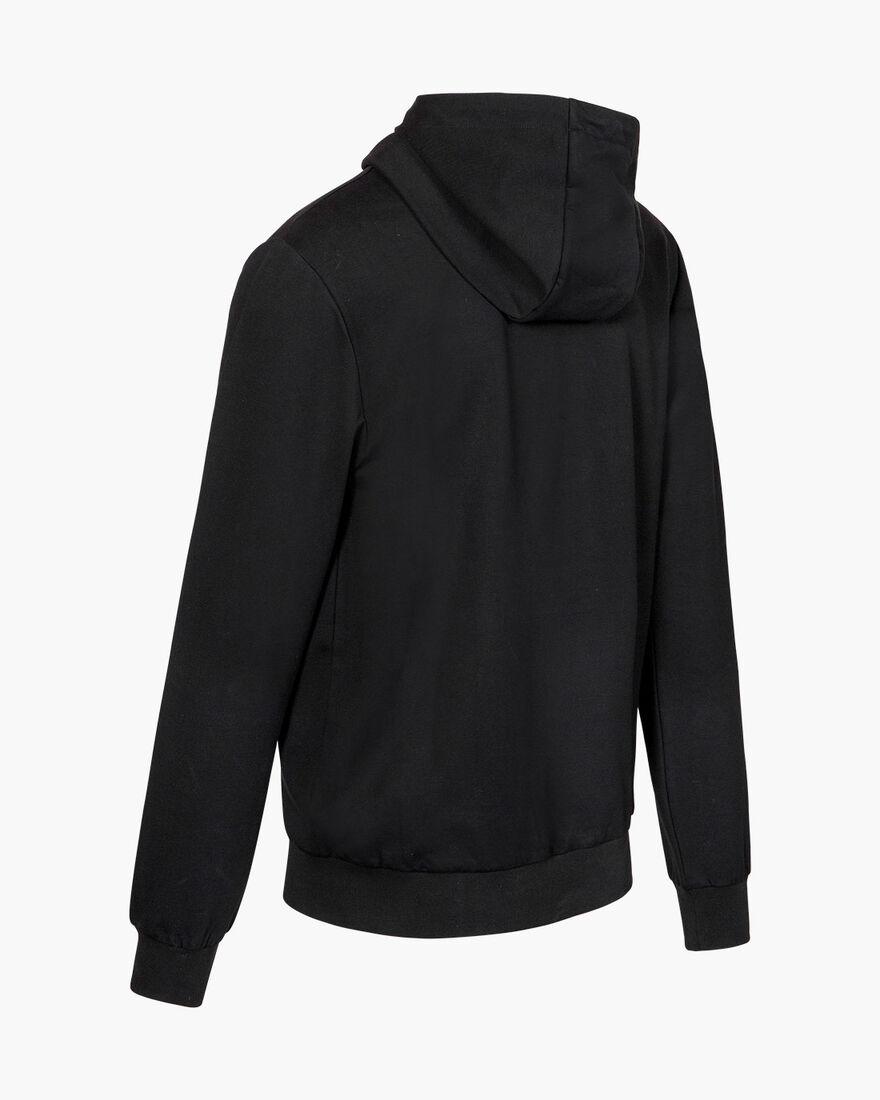 Lluis Hood - Black - 50% Cotton / 45% Polyester / , Black, hi-res