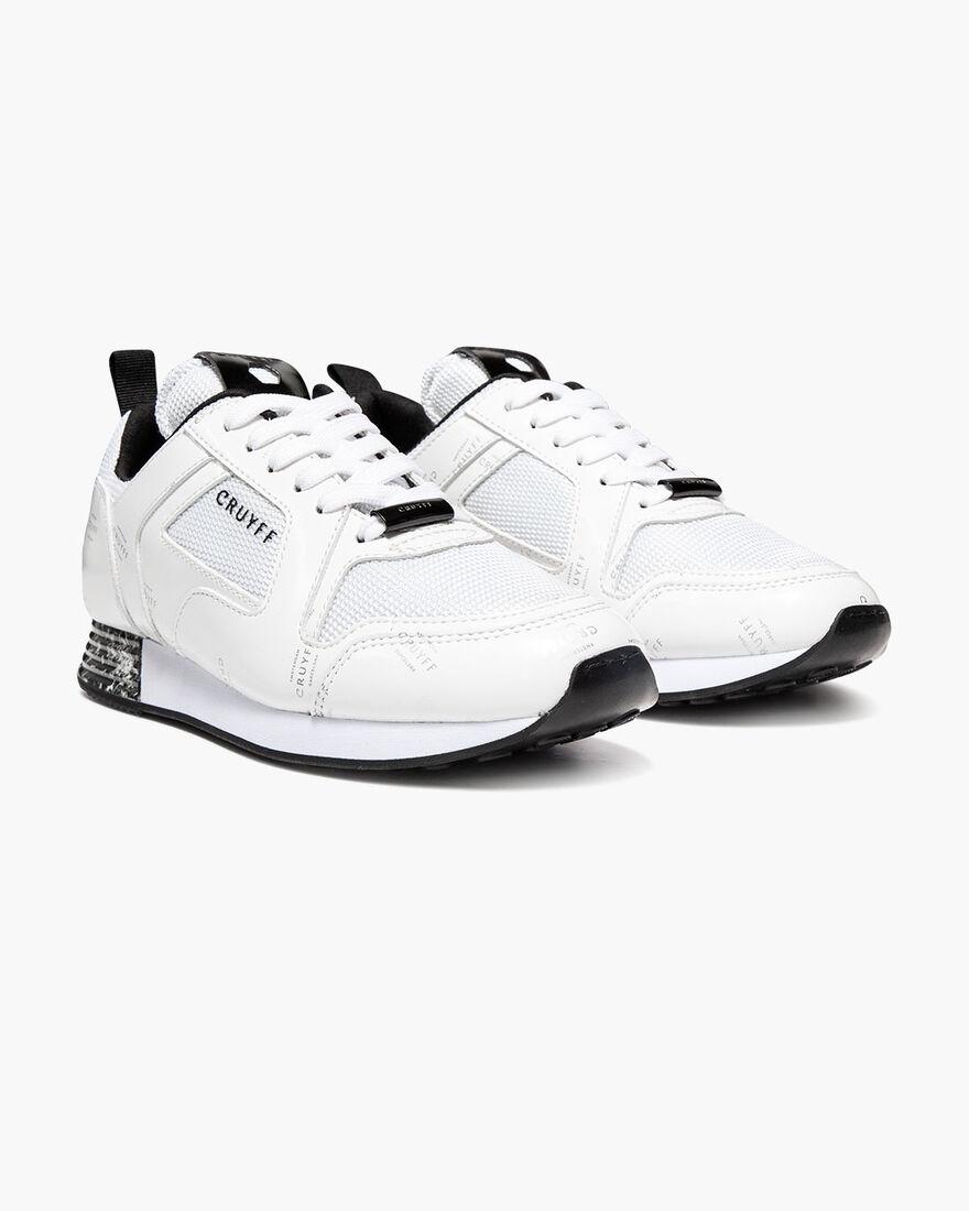 Lusso - White - Netmesh/Icon Graphic, White/Silver, hi-res