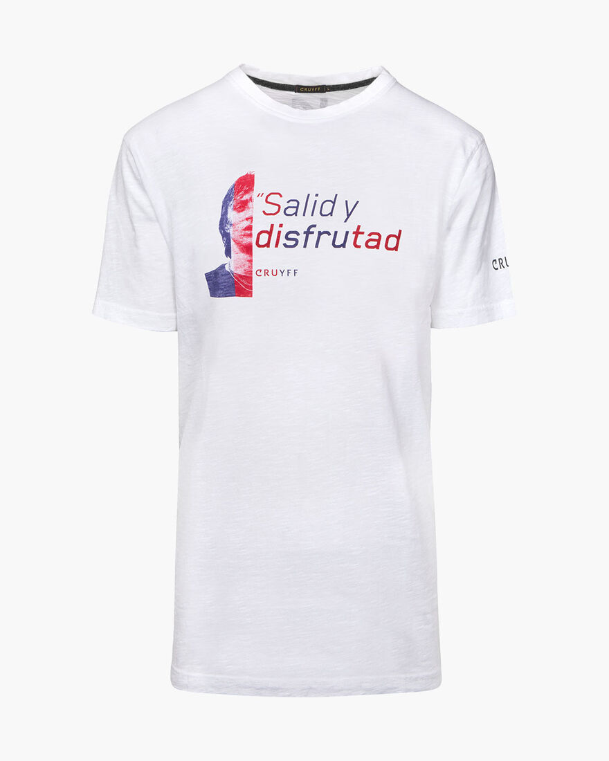 Disfrutad Quoted Tee, White, hi-res