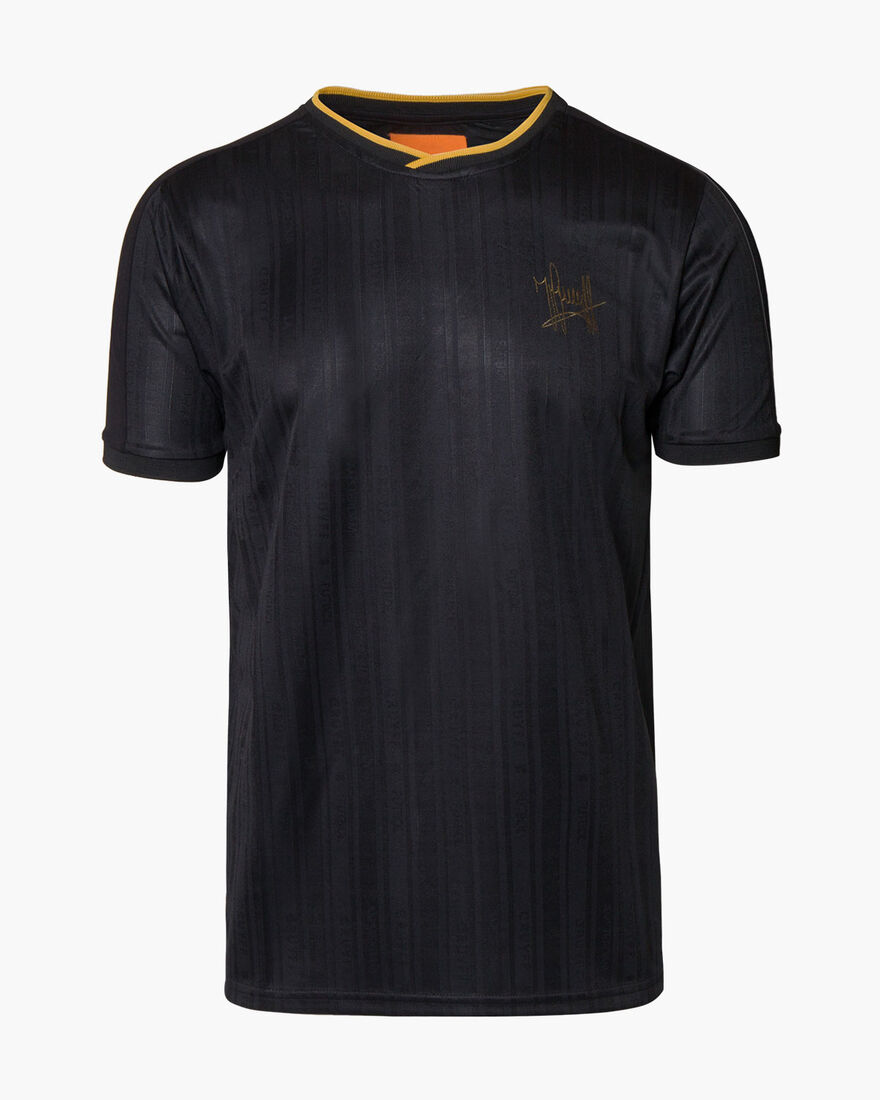 Brossa SS Football Jersey, Black, hi-res