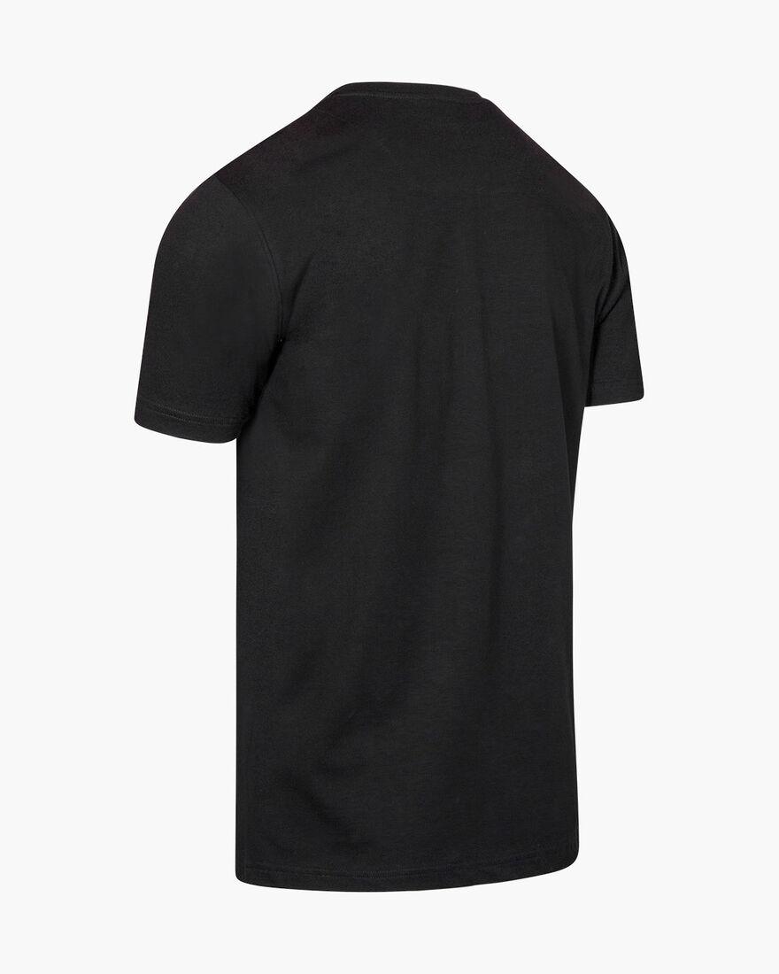 Lluis SS T-Shirt - White - 95% Cotton / 5% Elastan, Black, hi-res