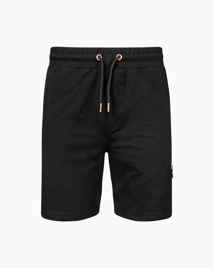Lluis Short  - Black - 50% Cotton / 45% Polyester , Black, hi-res