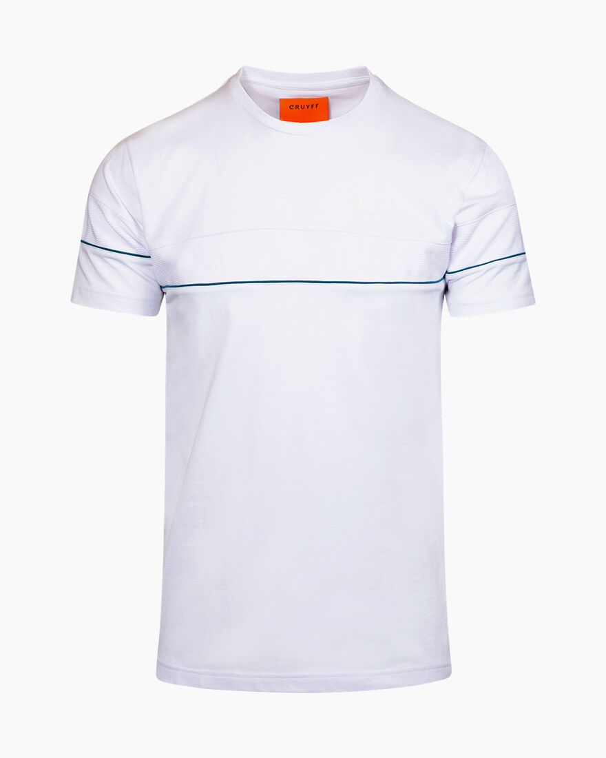 Ferran T-Shirt - White - 100% Cotton, White, hi-res