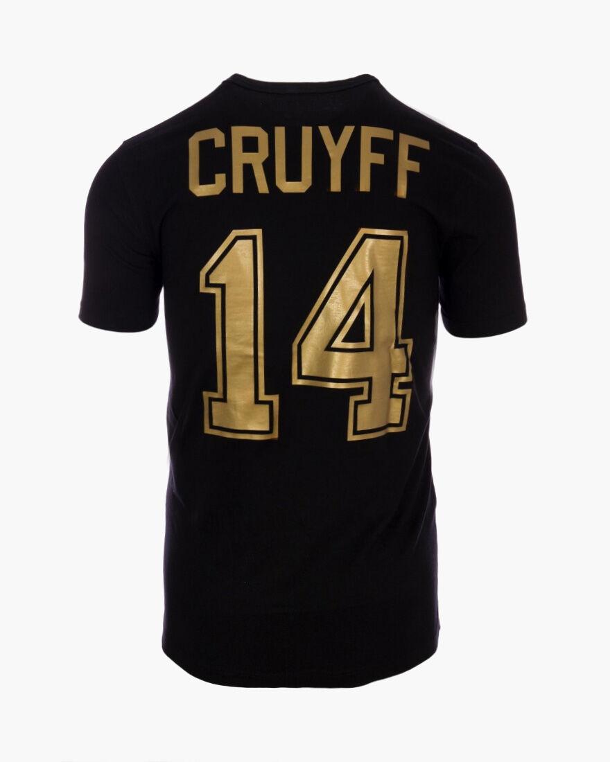 Cruyff Fourteen, Black/Gold, hi-res