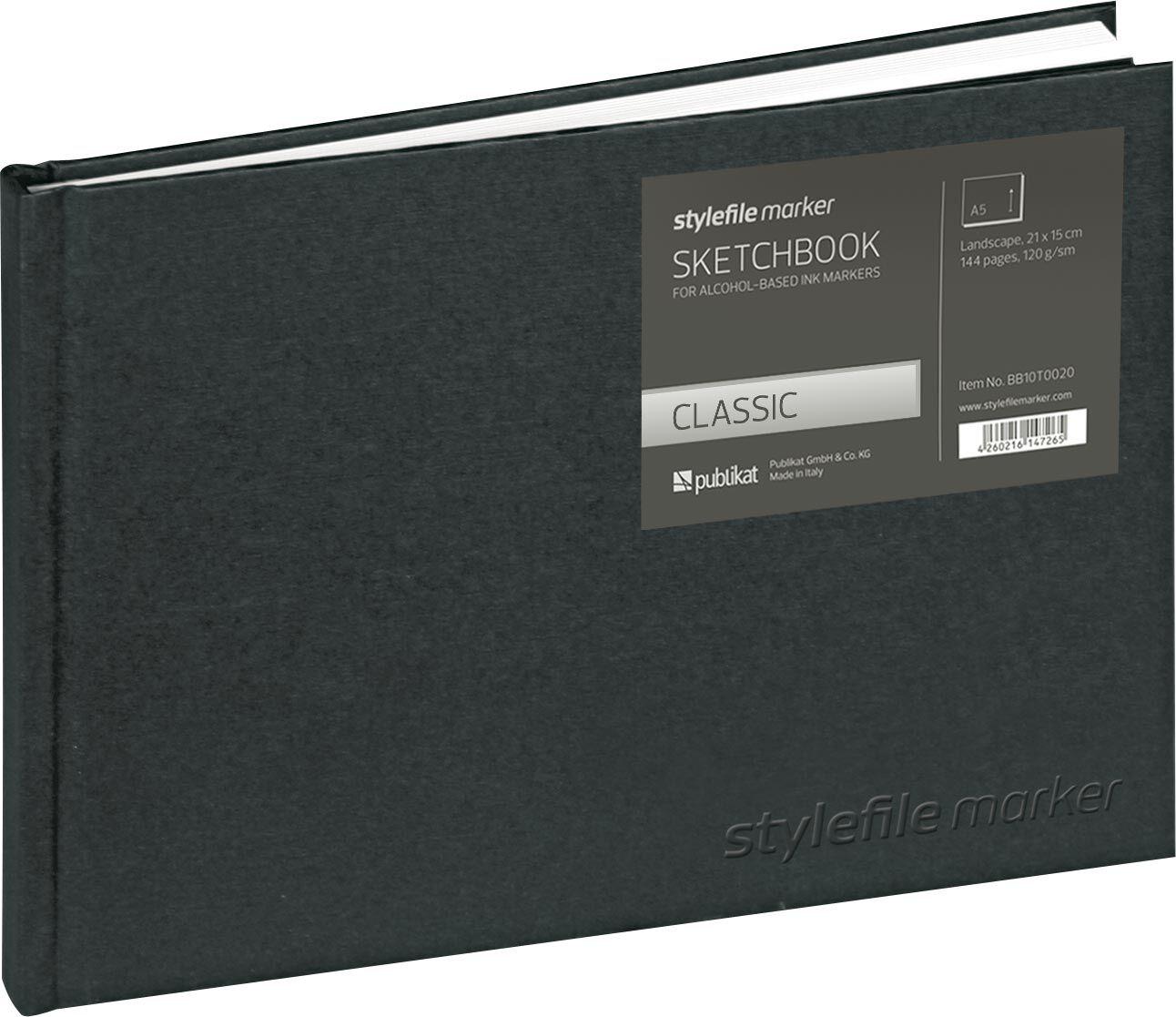 Stylefile Marker Classic Skizzenbuch Din A5 horizontal