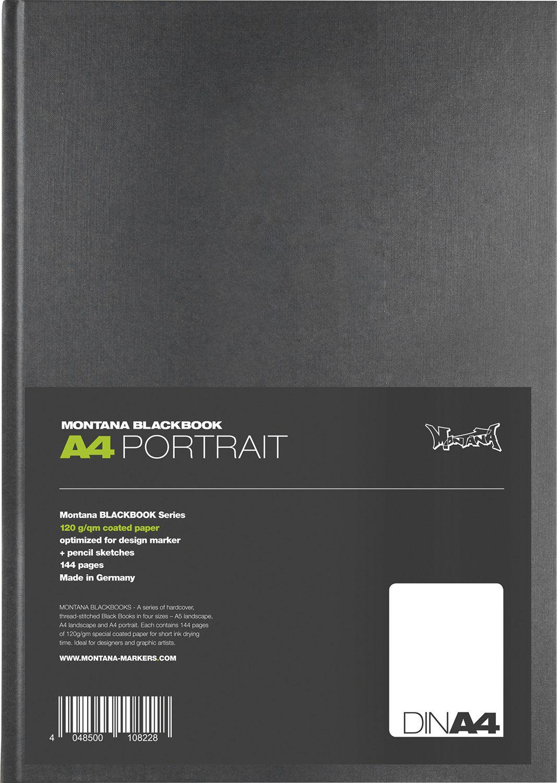 Classic A4  Skizzenbuch portrait