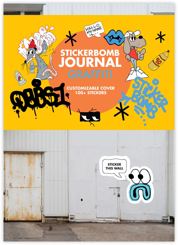 Urban Media Sticker Bomb Graffiti Stickerbuch