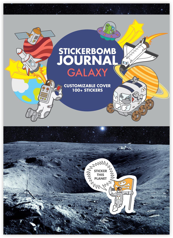 Urban Media Sticker Bomb Galaxy Stickerbuch