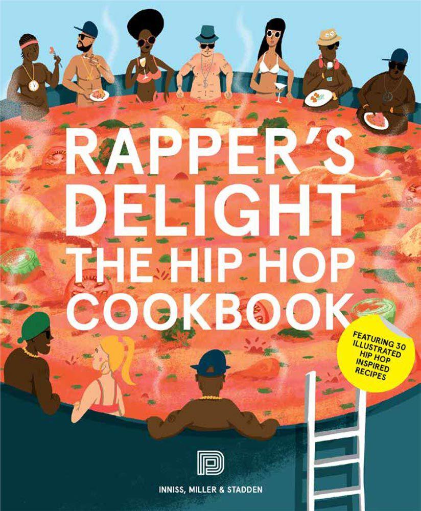 Urban Media Rapper's Delight Cookbook Buch 978-91-85639-70-0