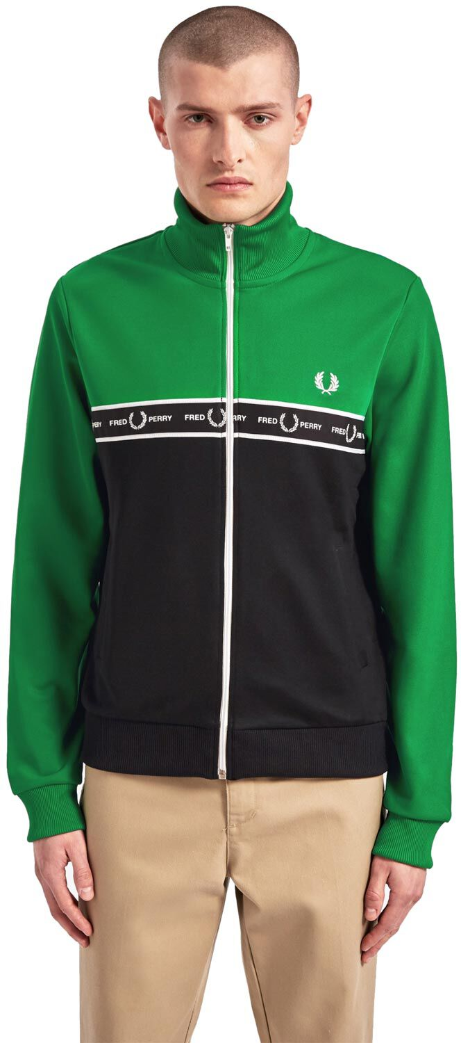 Fred Perry Taped Col Block, Gr. S J7526 I64