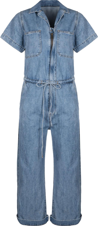 Levi's® Wide Leg Damen Jumpsuit blau 85699-0003