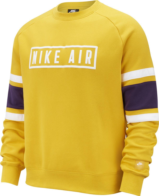 nike sweatshirt herren gelb