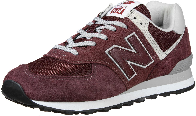 ML574  Schuhe weinrot