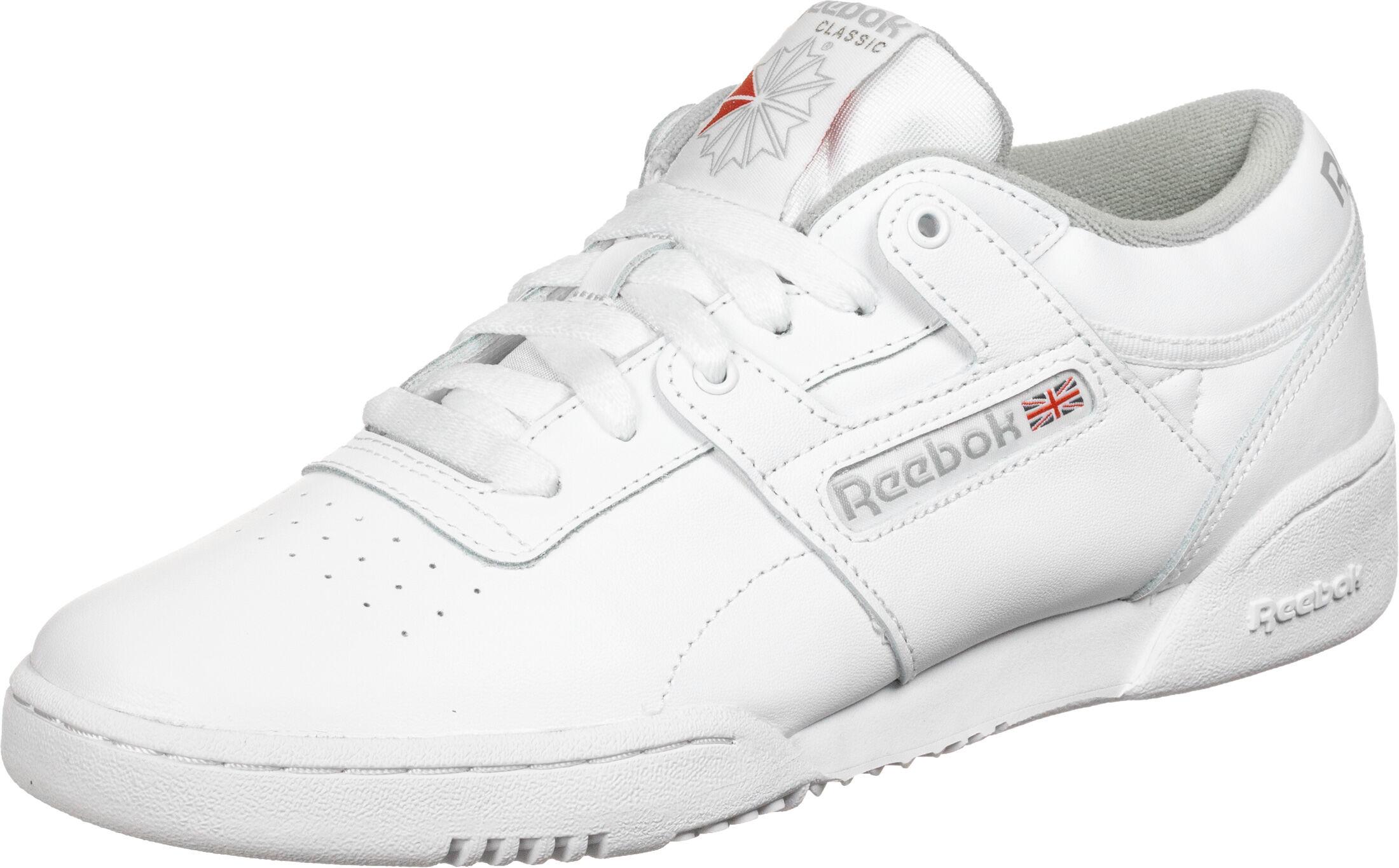 Reebok Workout Low Schuhe weiß CN0636