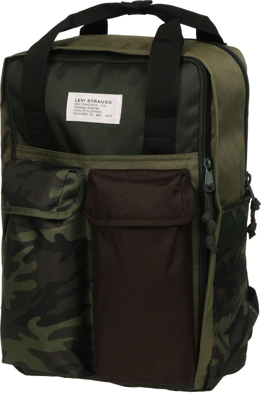 The Levi's L Pack 2.0  Rucksack oliv