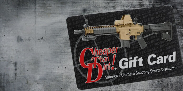 Shop Cheaper Than Dirt Gift Cards