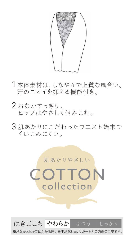肌あたりやさしいCOTTON collection
