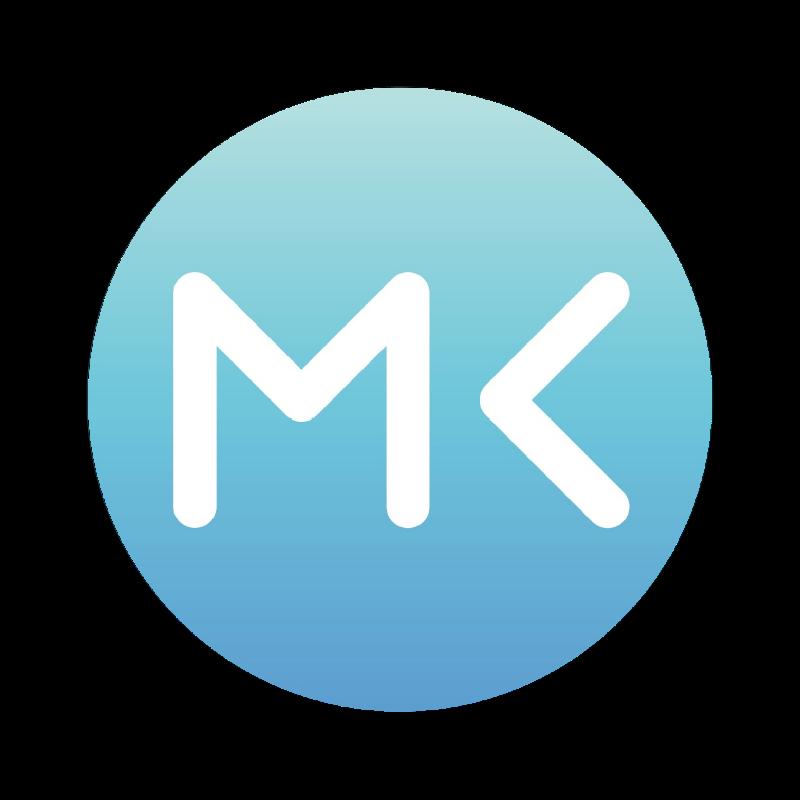 MK Blue Logo