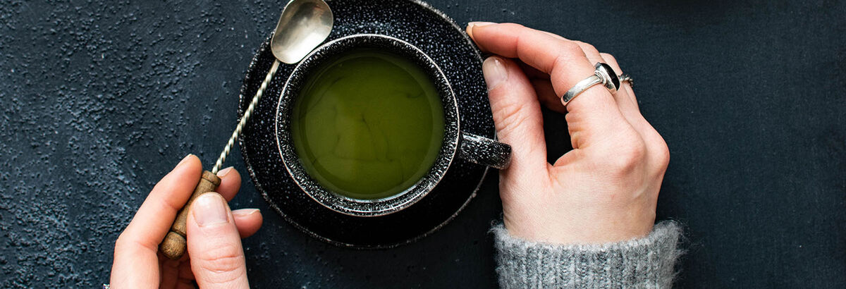 Matcha, an emerald-green tea brimming with benefits