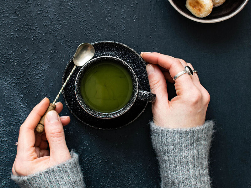 Matcha, an emerald-green tea brimming with benefits