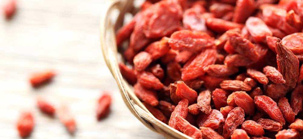 Goji-Beeren: gesund genießen