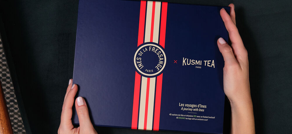 Kusmi Tea x Ines de la Fressange Paris | Kusmi Tea