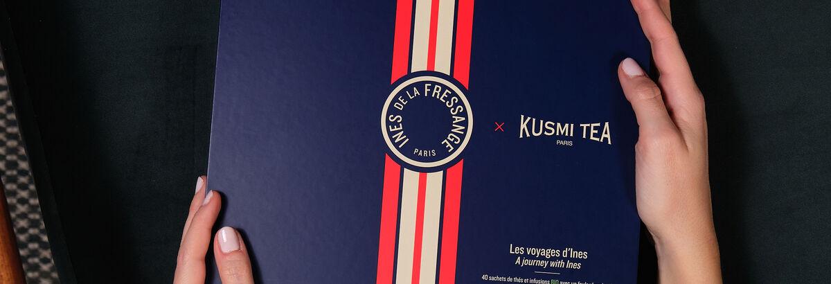 Inès de la Fressange tea | Organic tea box l Kusmi Tea