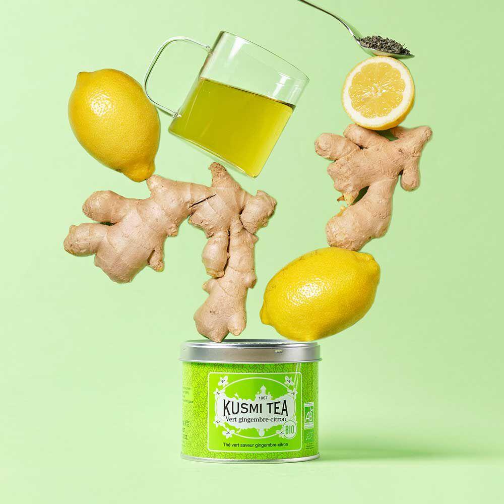 green ginger lemon