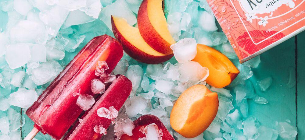 Notre recette facile de popsicle infusée à l'AquaSummer !