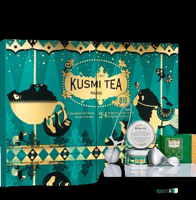 Calendrier de l'Avent - Thé Bio sachets & vrac- accessoires Kusmi Tea