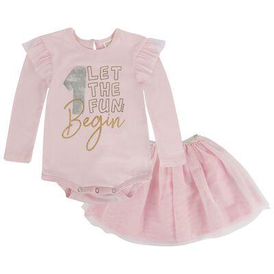 Baby Girls Becca 1st Birthday Set