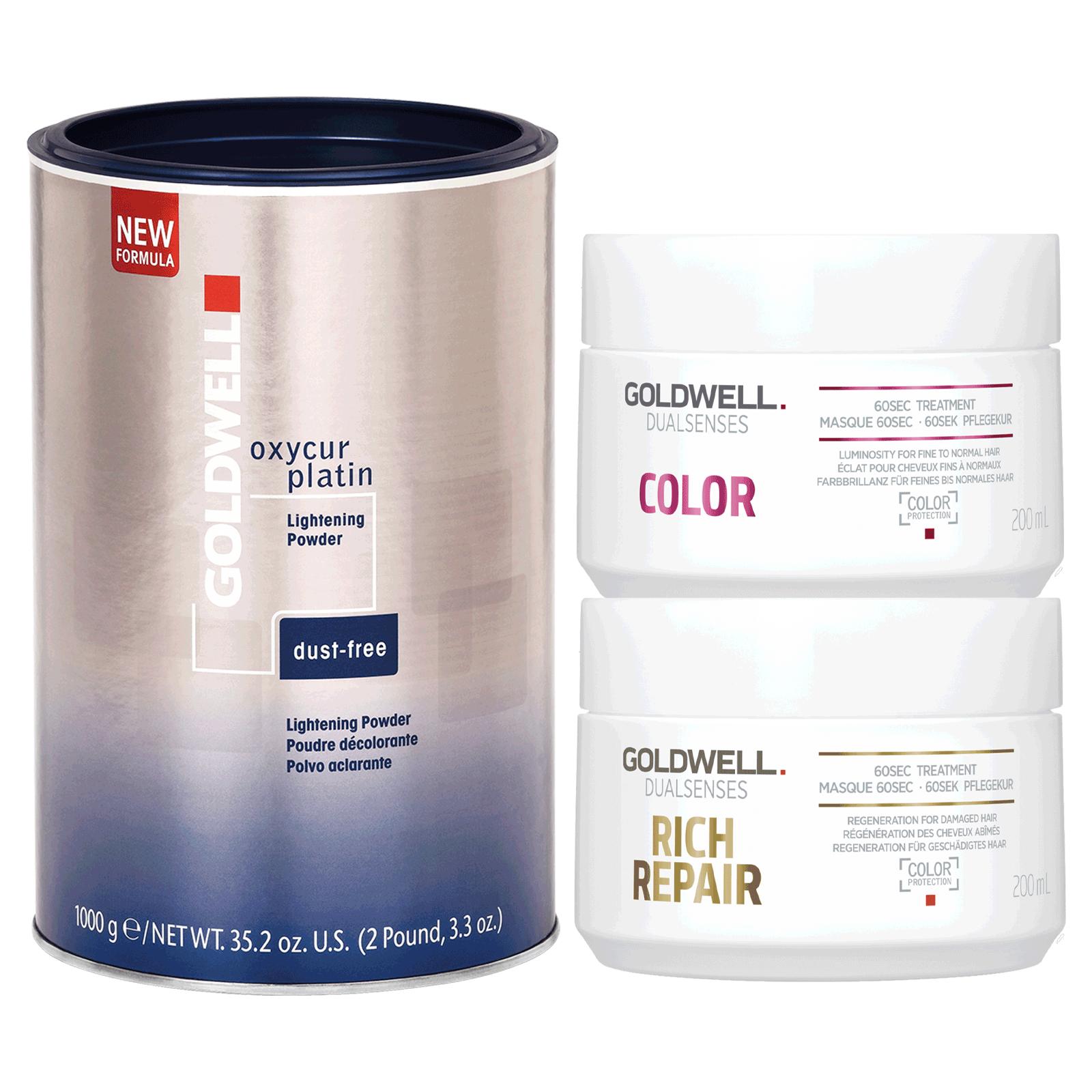 Dust Free Powder, Dualsenses Color 60 Second Treatment