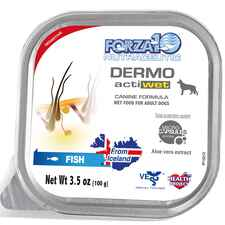 Forza10 Nutraceutic ActiWet Dermo Icelandic Fish Recipe Canned Dog Food-product-tile