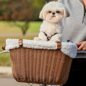 PetSafe Wicker Dog Bicycle Basket-product-tile