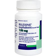 Rilexine Chewable Tablets (cephalexin)-product-tile