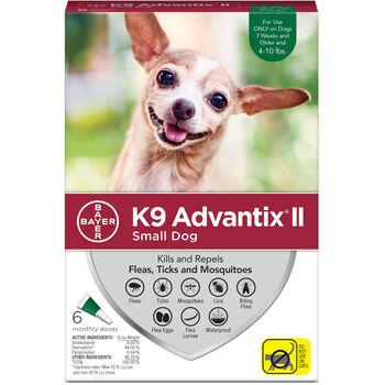 K9 Advantix II 6pk Green Dog 4-10 lbs product detail number 1.0