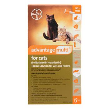 Advantage Multi 12pk Cats 5.1-9 lbs product detail number 1.0