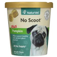 NaturVet No Scoot Plus Pumpkin Soft Chews for Dogs-product-tile