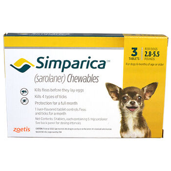 Simparica 3pk 2.8-5.5 lbs product detail number 1.0