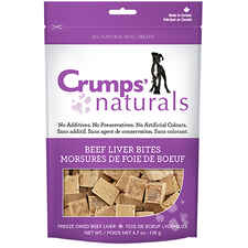Crumps' Naturals Beef Liver Bites-product-tile