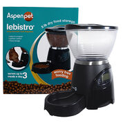 Aspen Pet Lebistro Programmable Food Dispenser by Petmate-product-tile