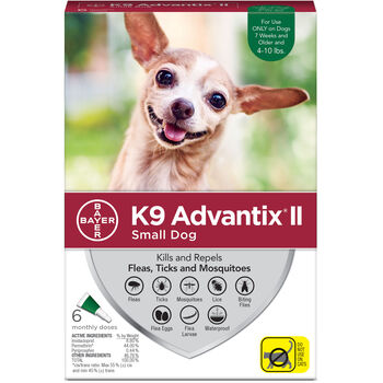 K9 Advantix II 12pk Green Dog 4-10 lbs product detail number 1.0