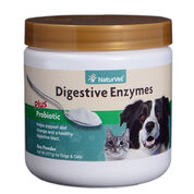 NaturVet Digestive Enzymes Plus Probiotic Powder-product-tile